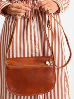 Camelowa torebka ze skóry naturalnej                                  zdj.                                  5