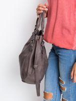 Ciemnobrązowa torba damska na ramię                                  zdj.                                  2