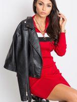 Ciemnoczerwona sukienka Freefall                                  zdj.                                  5