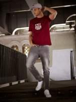 Ciemnoczerwony t-shirt męski FC BARCELONA                                   zdj.                                  14