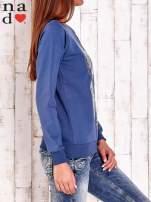 Ciemnoniebieska bluza z łapaczem snów                                  zdj.                                  3