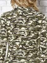 Ciemnozielona bluzka z motywem moro                                  zdj.                                  7