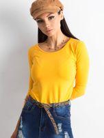 Ciemnożółta bluzka Mona                                  zdj.                                  1