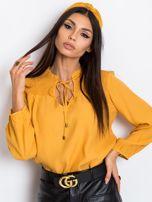 Ciemnożółta bluzka Thrill                                  zdj.                                  5