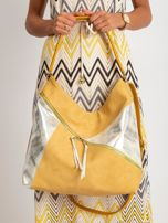 Ciemnożółta torba na ramię                                  zdj.                                  1