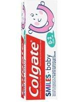 Colgate Pasta do zębów dla dzieci Smiles Baby (0-2 lat) 50 ml                                  zdj.                                  1