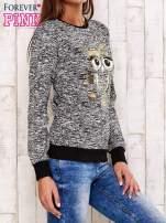 Czarna bluza z motywem sowy                                  zdj.                                  3