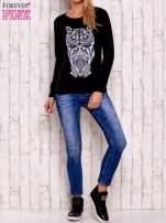 Czarna bluza z sową                                  zdj.                                  2
