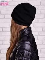 Czarna czapka z nadrukiem okularów aviator                                                                          zdj.                                                                         2