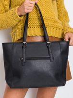 Czarna elegancka torebka damska                                  zdj.                                  2