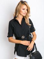 Czarna koszula Sharon                                  zdj.                                  5