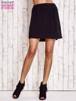 Czarna spódnica na gumkę                                                                          zdj.                                                                         2