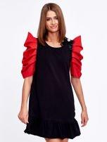 Czarno-czerwony strój wróżki                                  zdj.                                  1