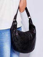 Czarna torba z przywieszką                                  zdj.                                  1