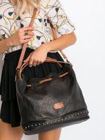 Czarna torba ze ściągaczem                                  zdj.                                  1