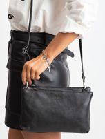 Czarna torebka damska ze skóry naturalnej                                  zdj.                                  1