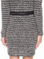 Czarna tweedowa sukienka w stylu Chanel                                  zdj.                                  10