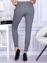 Czarne spodnie w pepitkę                                  zdj.                                  2