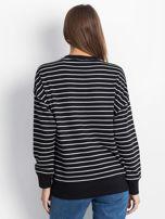 Czarno-biała bluza Continuously                                  zdj.                                  2