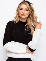 Czarno-biały sweter Taylor                                  zdj.                                  5