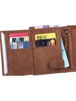 Czarno-brązowy portfel dla mężczyzny ze skóry                                  zdj.                                  5