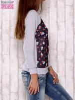 Czarno-szara bluza z nadrukiem pand                                  zdj.                                  3