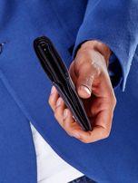 Czarny miękki portfel męski skórzany                                  zdj.                                  4