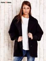 Czarny płaszcz oversize FUNK N SOUL