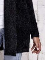 Czarny sweter oversize z kieszeniami                                                                          zdj.                                                                         6