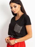 Czarny t-shirt Shelly                                  zdj.                                  3