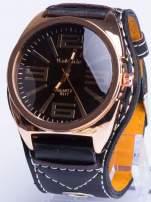 Czarny zegarek męski RETRO                                                                          zdj.                                                                         1