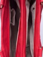Czarwona torba miejska na ramię                                  zdj.                                  5