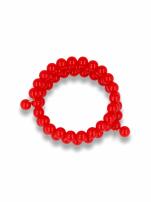 Czerwona Bransoletka koralikowa                                  zdj.                                  1