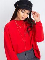 Czerwona bluza Twist                                  zdj.                                  1