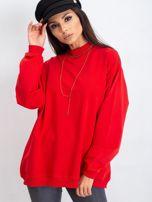 Czerwona bluza Twist                                  zdj.                                  6