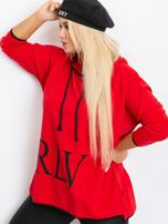 Czerwona bluza plus size Skip                                  zdj.                                  3