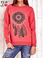 Czerwona bluza z łapaczem snów                                  zdj.                                  1