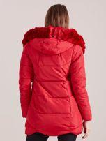 Czerwona damska kurtka zimowa                                  zdj.                                  2