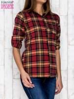 Czerwona koszula w kratę                                   zdj.                                  3