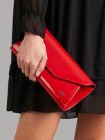 Czerwona lakierowana kopertówka                                  zdj.                                  1
