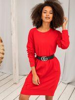 Czerwona sukienka Cristine                                  zdj.                                  1