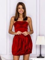 Czerwona sukienka bombka                                  zdj.                                  1