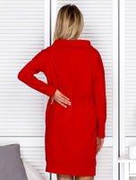 Czerwona sukienka z wstążkami                                   zdj.                                  2