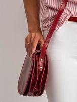 Czerwona torebka ze skóry naturalnej                                  zdj.                                  3