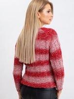 Czerwony sweter Harper                                  zdj.                                  2