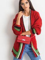 Czerwony sweter Lavish                                  zdj.                                  5