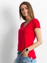 Czerwony t-shirt Square                                  zdj.                                  3