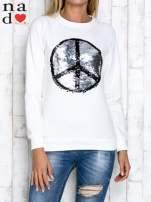 Czarna bluza z dwustronną naszywką z cekinów                                                                          zdj.                                                                         5