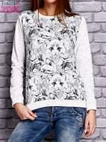 Ecru bluza z motywem kotów                                  zdj.                                  1