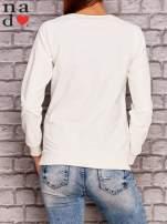 Ecru bluza z napisem MAM FOCHA                                  zdj.                                  4